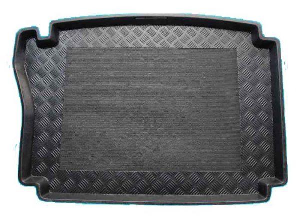 100618 Hyundai i30 hatchback met een normaal reservewiel 2007-2008 kofferbakmat