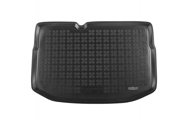 Rubberen kofferbakmat Citroen C3 met een normaal reservewiel 2009-2016