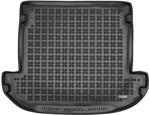 230648 Hyundai Santa Fe 2018- 7 stoelen waarbij de 3e rij is neergeklapt Rubberen kofferbakmat