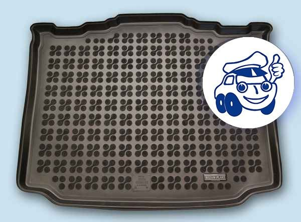 231513 Skoda Roomster 2006-2008 rubberen kofferbakmat