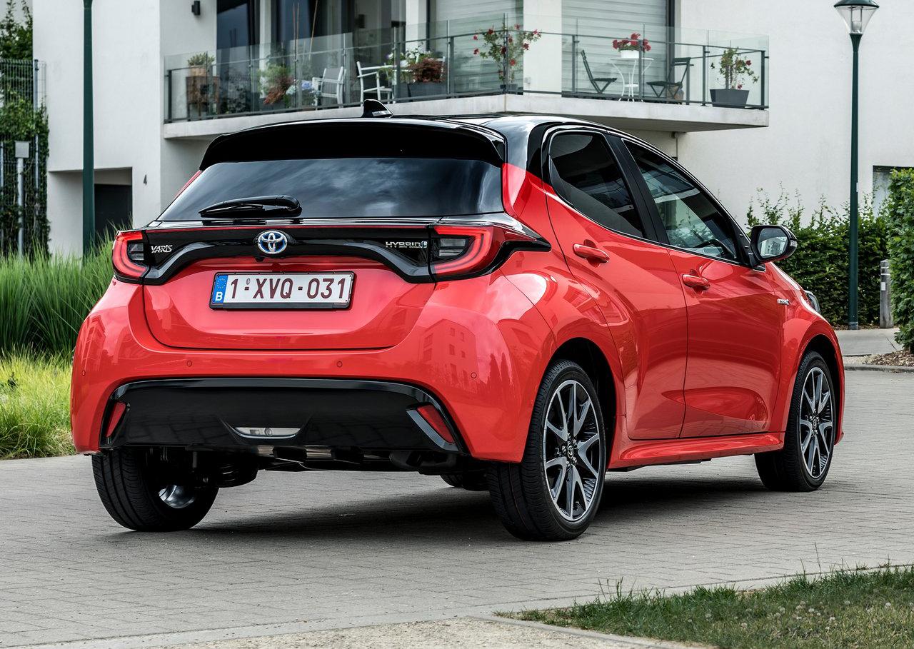 Nieuw! Automatten voor de Toyota Yaris 2020->