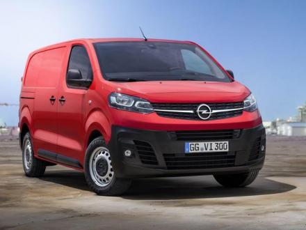 Nieuw! de automatten van de Opel Vivaro C