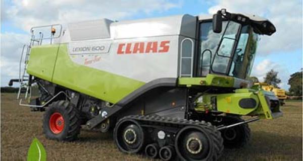 Claas Lexion met rempedaal 2010-2012