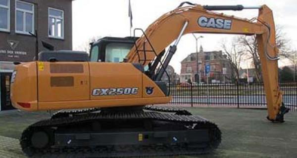 Case cx250c kraan